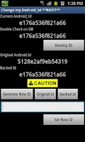 Screenshot of Change Android Id ★ Root
