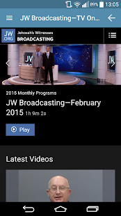 JW Podcast (english)- screenshot thumbnail