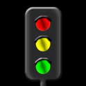 Trafficlight simulation icon