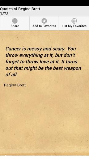 Quotes of Regina Brett
