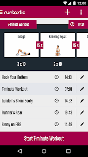 Runtastic Butt Trainer Workout Screenshot 5