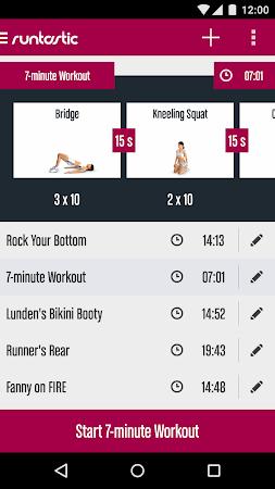 Runtastic Butt Trainer Workout 1.3 screenshot 31834