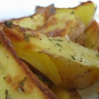 Parmesan Roasted Potato Wedges