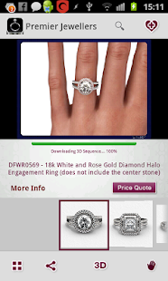 The Vow Engagement Ring Finder - screenshot thumbnail