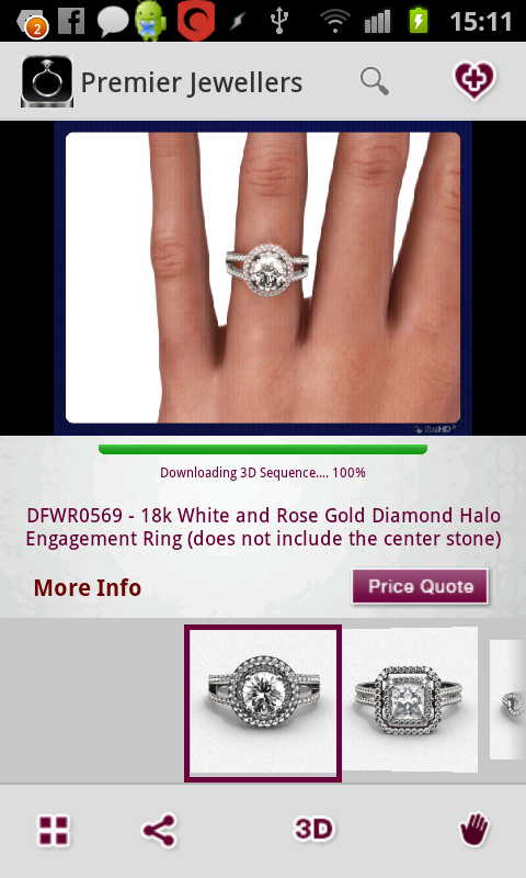 The Vow Engagement Ring Finder- screenshot
