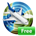 Airline Flight Status Tracking mobile app icon