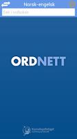 Screenshot of Ordnett - Engelsk blå ordbok