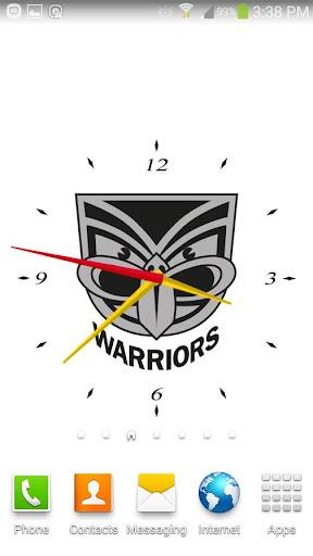New Zealand Warriors Clock