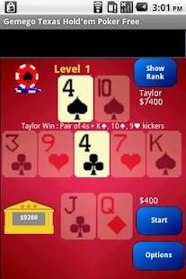 Texas Hold'em Poker Large Free - screenshot thumbnail