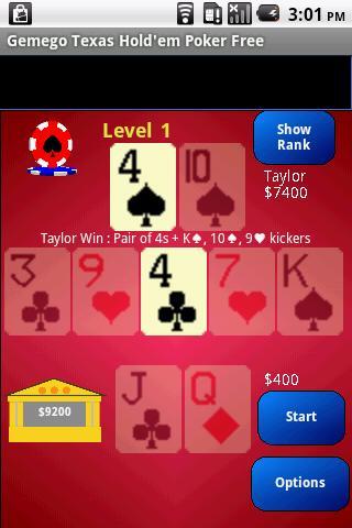 Texas Hold'em Poker Large Free - screenshot