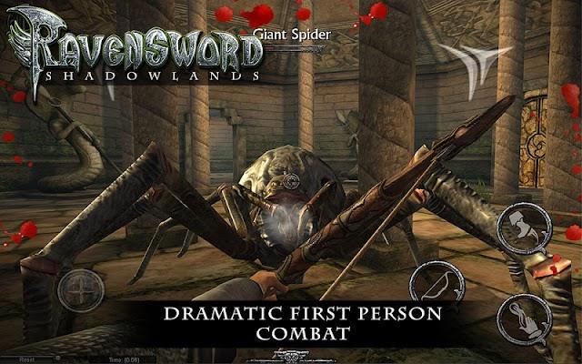 Ravensword: Shadowlands 3d RPG- screenshot