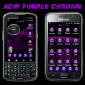 ADW Purple Chrome Theme logo