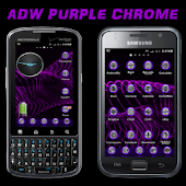 ADW Purple Chrome Theme