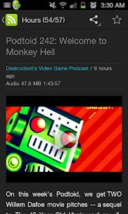 Destructoid Offline NewsReader - screenshot thumbnail