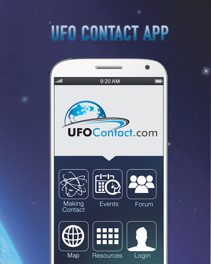 UFO Contact App- screenshot