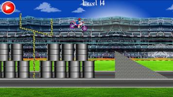 Screenshot of Long Stunt Biker