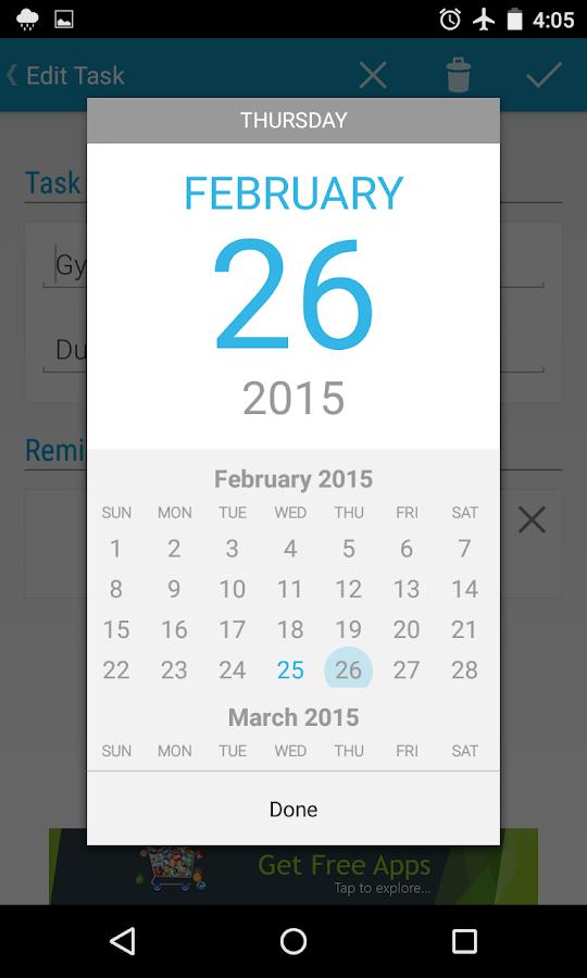 Tasks To Do : To-Do List - screenshot