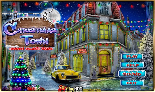 Christmas Town - Hidden Object