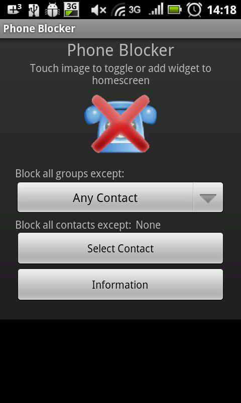 Call Blocker - screenshot