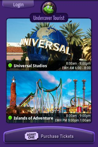 Universal Studios Wait Times - screenshot