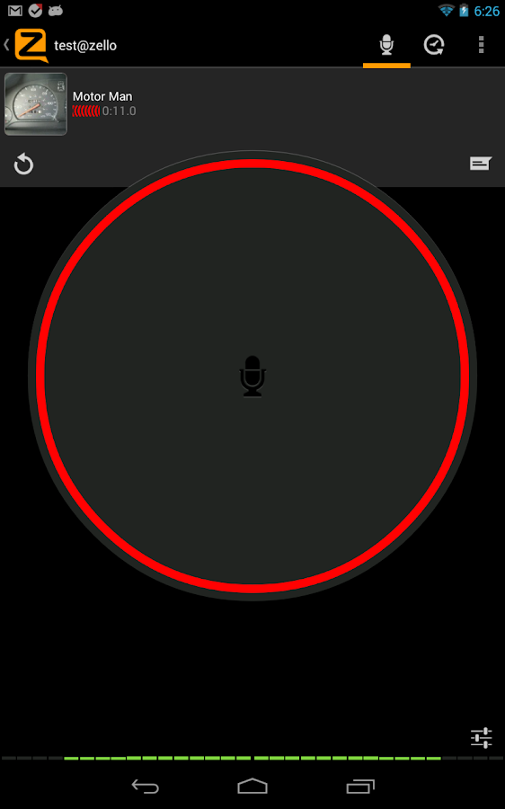 Zello PTT Walkie-Talkie - screenshot