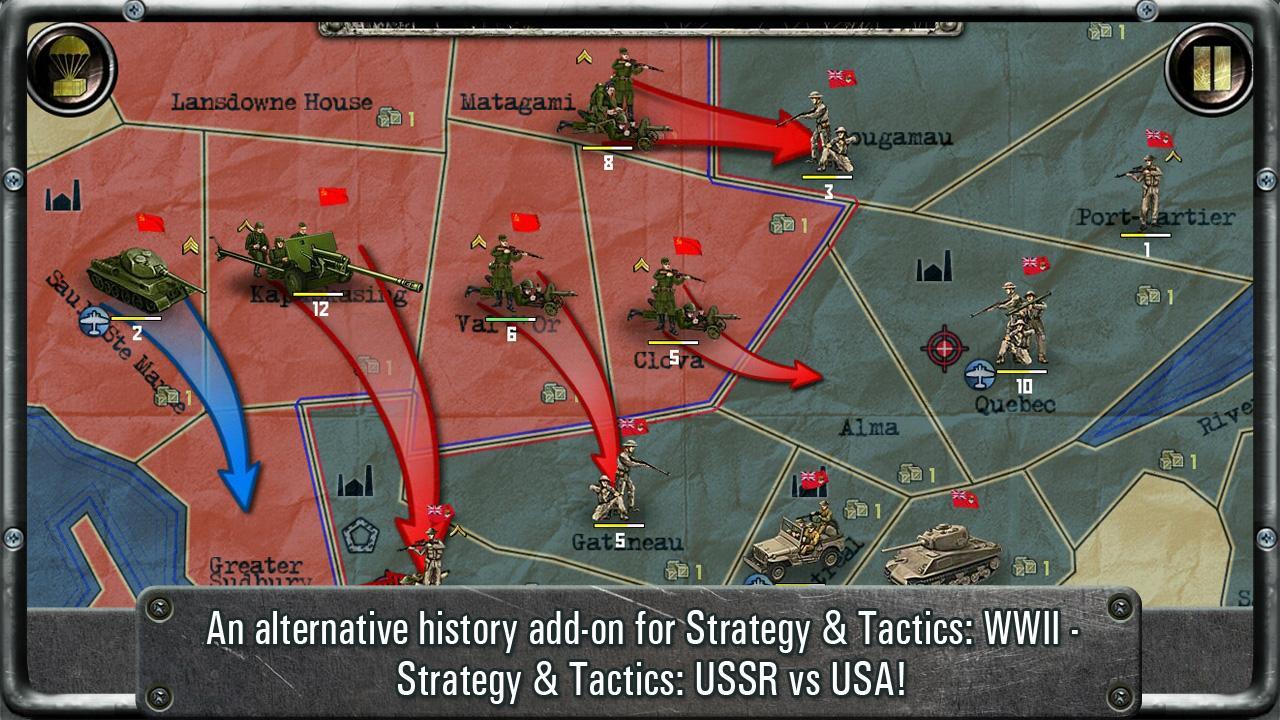 Strategy Tactics USSR vsUSA Android