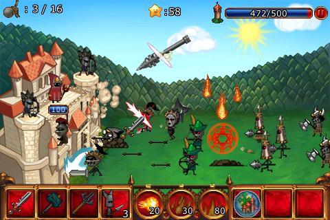 Cartoon Defense 2 APK screenshot thumbnail 2