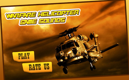 Warfare Helicopter Game Sounds