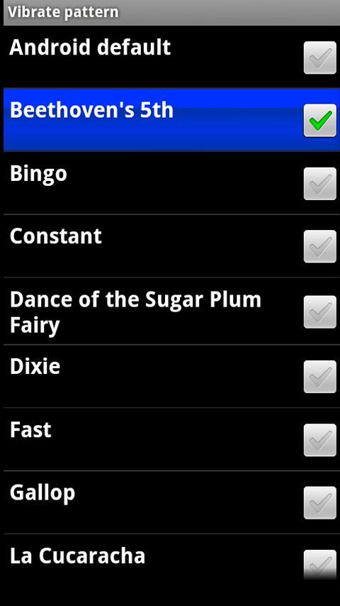 Cerbroid Vibrate Ringer - screenshot