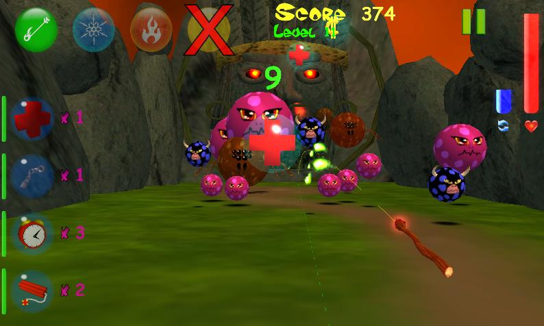 Monster Bubbles Curse (Pang) screenshot #3