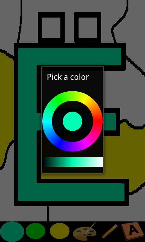 Coloring for Kids - ABC Pro - screenshot