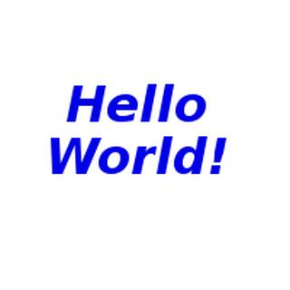 Super Hello World