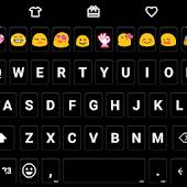 Pure Black - Emoji Keyboard