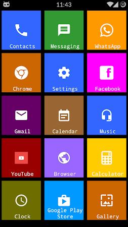 Metro Theme Launcher - WP Look 1.12 screenshot 642110
