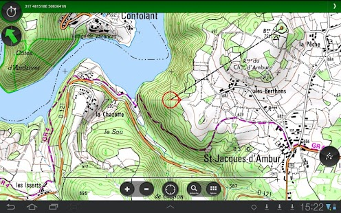 ViewRanger GPS IGN Géoportail - screenshot thumbnail