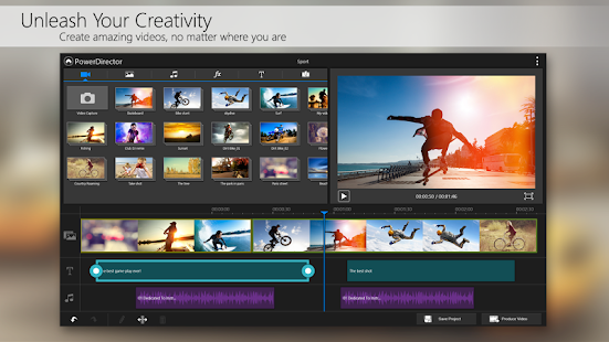 PowerDirector Video Editor App Screenshot 11