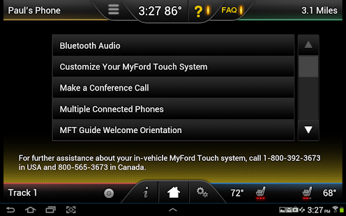 MyFord Touch Guide- screenshot thumbnail