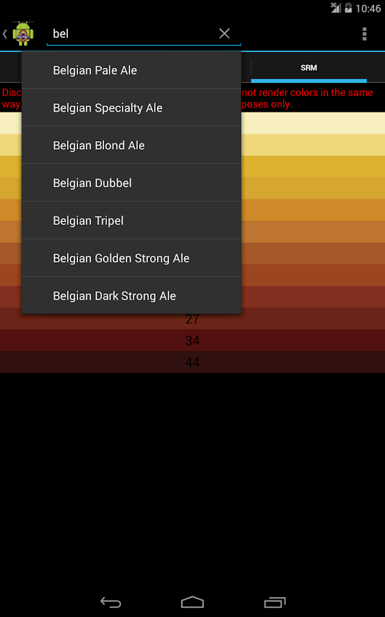 BJCP Beer Style Reference - screenshot