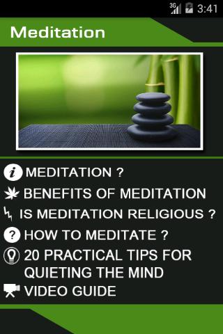 Meditation Complete Guide