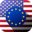 Euro to US Dollar USD EUR icon