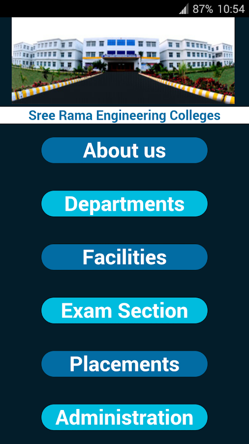 Sree Rama Colleges- screenshot