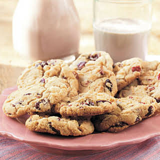 White Chocolate-Cranberry Cookies.