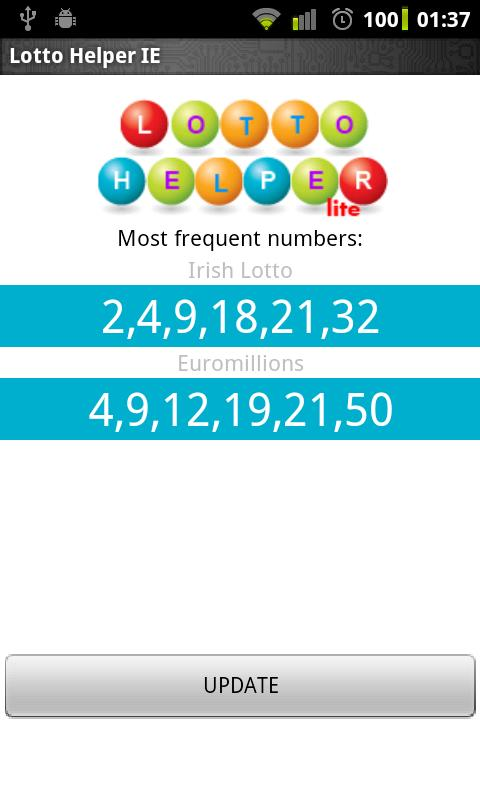 Lotto Helper IE - screenshot