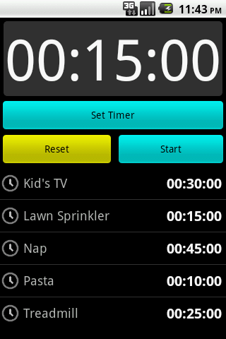 Timer - screenshot