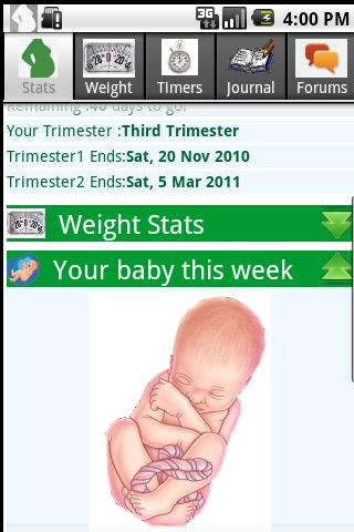 Happy Pregnancy Ticker- screenshot
