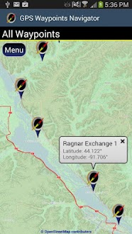 GPS Waypoints Navigator Gratis
