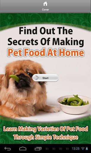 Making Pet Food at Home