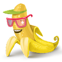 banana corp – test refund logo