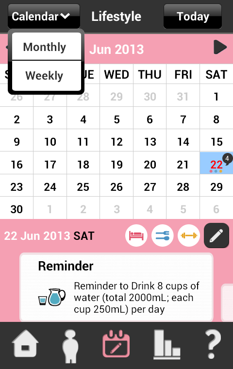 My Wellness Tracker HK- screenshot