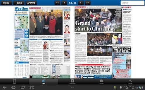 The Lancashire Evening Post- screenshot thumbnail